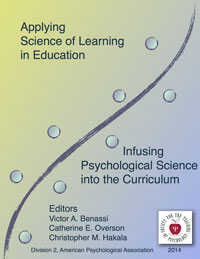 Applying Science of Learning in Education