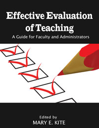 Effective Evaluation of Teaching